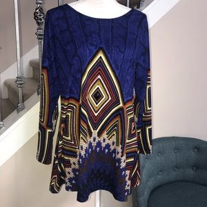 Isabel Long Sleeves blouse top size large